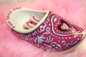 ...und das ist mein ganz persönlicher schuh für den pink-shoe-day und die damit verbundene spendenaktion...