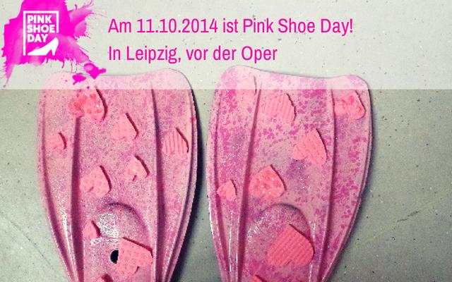 Am 11.10.2014 ist wieder Pink Shoe Day!