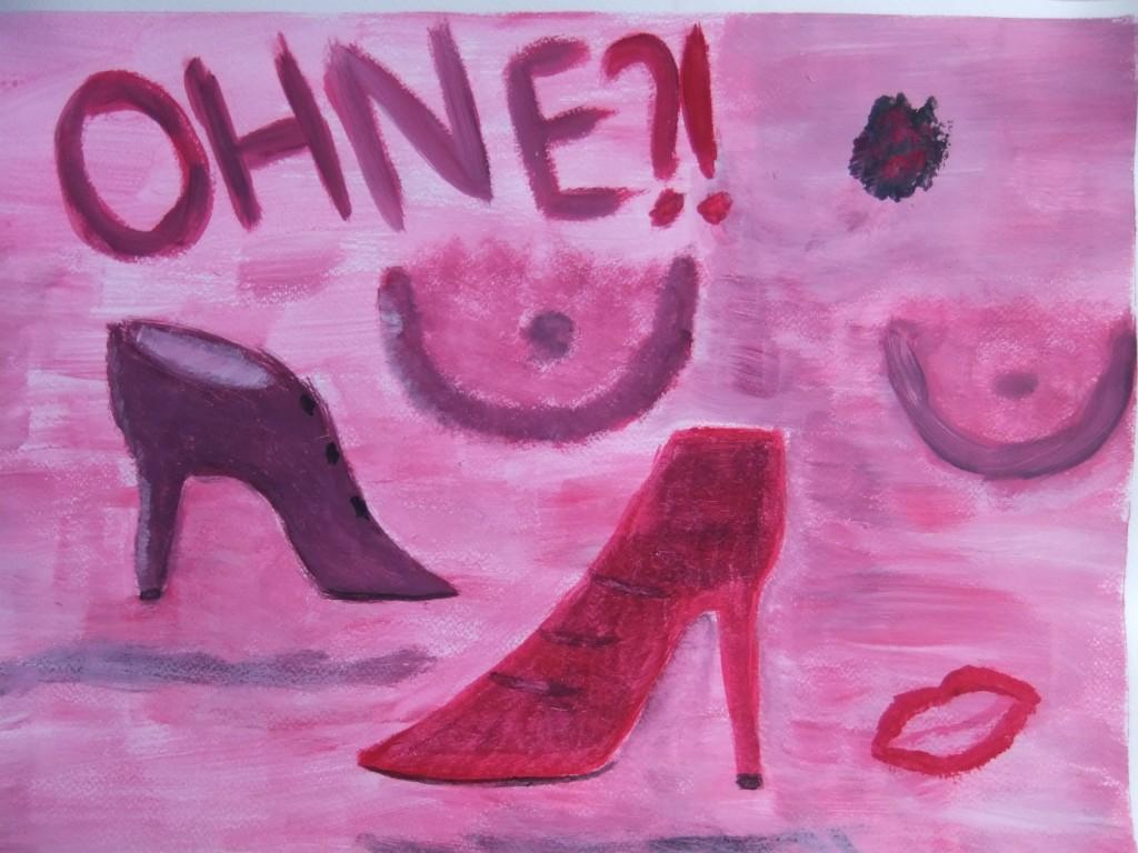 Friesennest Pink Shoe 2 for Blog