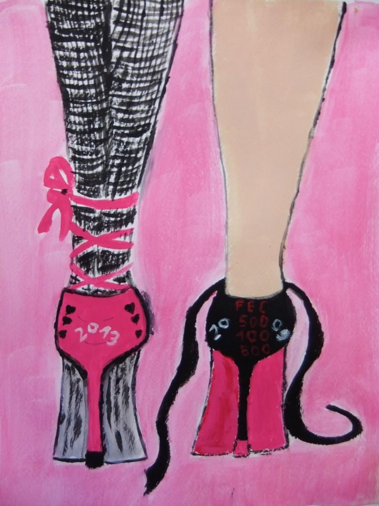 Friesennest Pink Shoe 7 for Blog