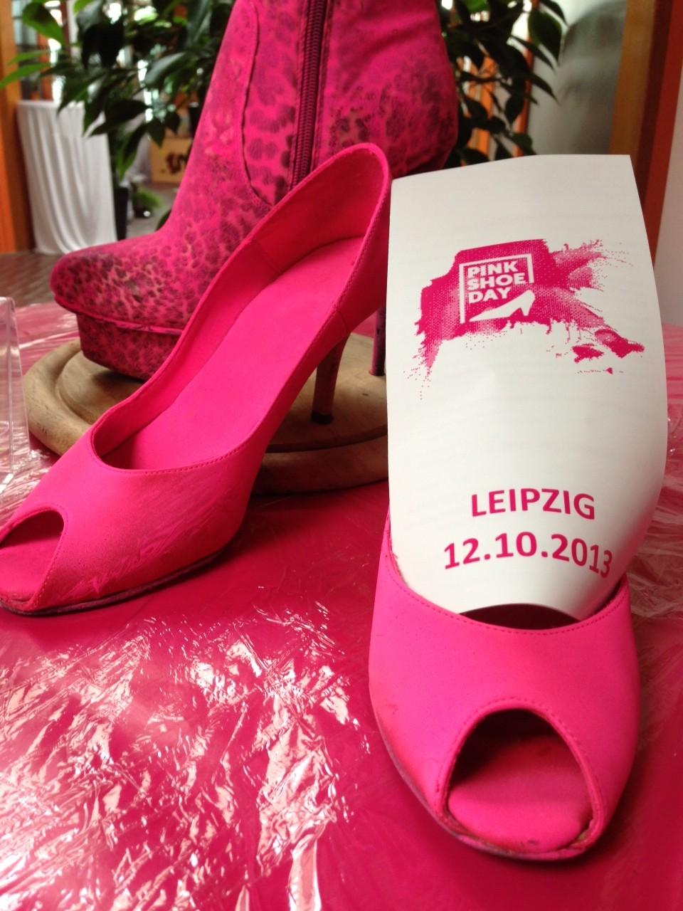 Pink Shoe Day » Sportpark Leipzig macht mit!