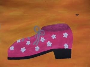 Friesennest Pink Shoe aus dem Offenes Atelier Haus Leben Leipzig