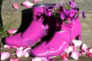 ..meine ersten pink shoes, da geht noch was!..