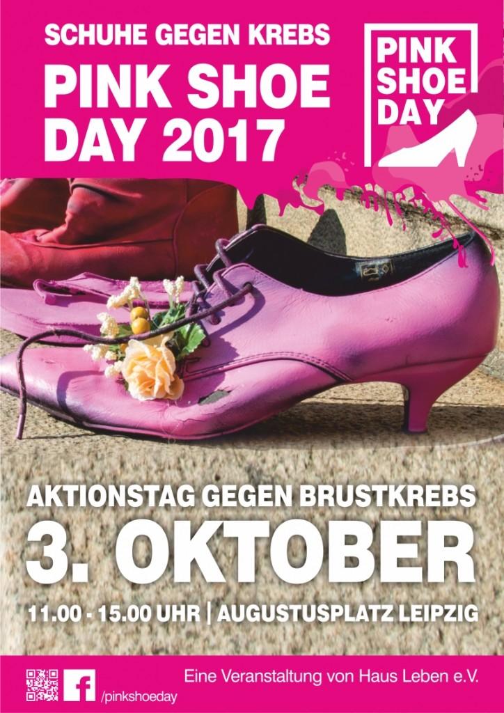 Plakat Pink Shoe 2017